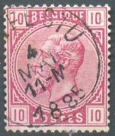 N°38 - 10 Centimes Rose, Obl. Sc CRONFESTU 4 Mai 1885 - 15148 - 1883 Léopold II