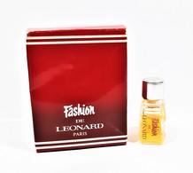 Miniatures De Parfum FASHION  De LEONARD  1.1 Ml + BOITE - Miniatures Modernes (à Partir De 1961)