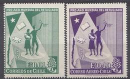CHILI 1960 Mi.nr. 573-574 Welt-Flüchtlings-Jahr  NEUF Sans CHARNIERE / MNH / POSTFRIS - Cile