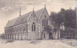 La Panne L'Eglise Circulée En 1919 - De Panne