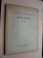 Gedenkboek WILLEM EEKELERS 1883 - 1954 / Gemeentebestuur Antwerpen / Excelsior ( Kaft / Slechtere Staat > Zie Foto's ) - Autres