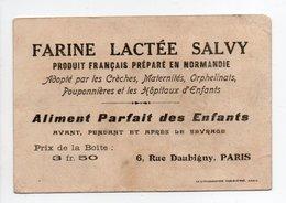 - CHROMO FARINE LACTÉE SALVY - Aliment Parfait Des Enfants - LES SARDINES - - Trade Cards