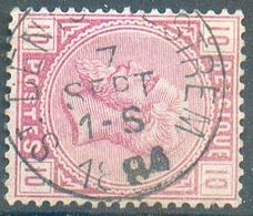N°38 - 10 Centimes Rose, Obl. Sc St DENIS-WESTREM 7 Sept. 1884 - 15156 - 1883 Léopold II