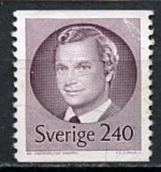 Suède - Schweden - Sweden 1981 Y&T N°1133 - Michel N°1151 (o) - 2,40k Charles XVI - 1910-... Republic
