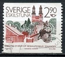 Suède - Schweden - Sweden 1986 Y&T N°1380 - Michel N°1396 (o) - 2,90k Eskilstuna - 1910-... Republic