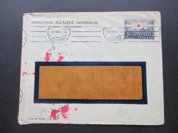 1941 Zensurpost Finnischer Stempel Tarkastettu Granskat Und OKW Zensur Rotes Kreuz / Red Cross Nr. 220 EF - Cartas