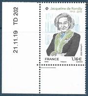 5380 Jacqueline De Romilly Coin Date (2020) Neuf** - Neufs