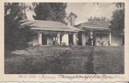 1933 Tanganyika Hotel Kibo Marangu Kilimanjaro Commercially Used Postcard Moshi To Switzerland - Tanzania