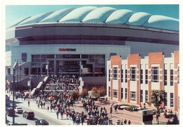 Postcard Stadium Indianapolis USA Stadion Stadio - Estadio - Stade - Sports - Sport - Dome Football - Stadi