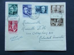 BELGIQUE - N° 973/ 78 Obliteration    22/10/1955  Année 1955  ( Voir Photo )  73 - FDC