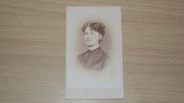 ANTICA FOTO CARTONATA FOTOGRAFO ASCHENBRENNER GORIZIA MISURA CM. 10,5  X 6 - Antiche (ante 1900)