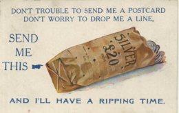 COMIC - CORONA PUBLISHING - DON'T TROUBLE TO SEND ME A POSTCARD 1920 - Bandes Dessinées