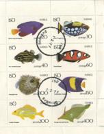 SWEDEN (ISO) BOGUS MINI-SHEET OF FISH 1977 - Svezia