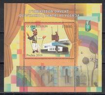 Uz 11404 Bl.103 Uzbekistan Usbekistan 2019 Puppen Theater 80 Jahre - Uzbekistan