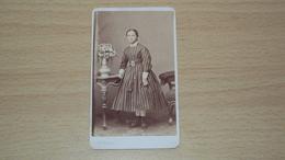 ANTICA FOTO CARTONATA FOTOGRAFO BRAIDA UDINE MISURA CM. 10,5  X 6 - Antiche (ante 1900)