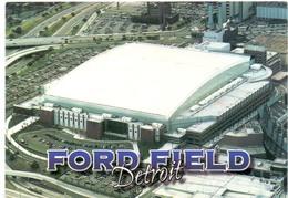 Postcard Stadium Detroit USA Stadion Stadio - Estadio - Stade - Sports - Sport - Ford Field Dome Football - Stadi