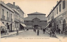 BONE Annaba - La Rue Négrier Et Le Marché Aux Légumes - Annaba (Bône)