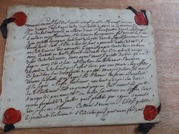 N18 : TRES RARE - ANCIEN TESTAMENT L'AN 1784 - Acciones & Títulos