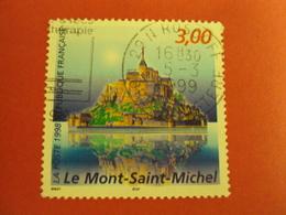 """1990-99- Oblitéré N°   3165    """" Mont St Michel """"      Net   0.30   Photo    1 - France"""