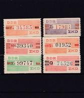 DDR, Dienst: ZKD Nr. V/X  Mi. 30,- Euro (T 14175) - Official