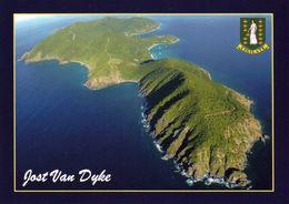 1 AK BVI British Virgin Islands * Blick Auf Die Insel Jost Van Dyke - Luftbild - Britische Jungferninsel In Der Karibik - Virgin Islands, British