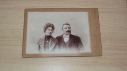 ANTICA FOTO CARTONATA GRANDE FOTOGRAFO PIGNAT UDINE MISURA CM. 16,5  X 11 - Antiche (ante 1900)
