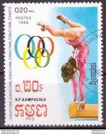 Kampuchea 1988 Oblitéré - Jeux Olympiques - Michel Nr. 922 (cam332) - Kampuchea