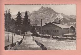 OLD POSTCARD - SWITZERLAND -  SCHWEIZ - SUISSE -       VILLARS - INSTITUT ROSEMONT - VD Vaud