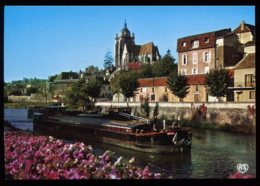 CPM Neuve 39 DOLE Le Canal Du Rhône Au Rhin Péniche - Dole