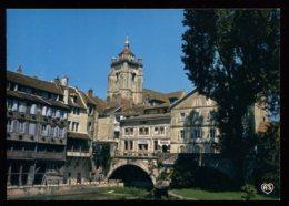 CPM Neuve 39 DOLE La Basilique Depuis Le Canal Des Tanneurs - Dole