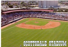 Postcard Stadium Scottsdale Usa Stadion Stadio - Estadio - Stade - Sports - Baseball - Stadi