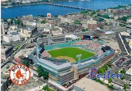 Postcard Stadium Boston Usa Fenway Park Stadion Stadio - Estadio - Stade - Sports - Baseball - Stadi