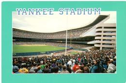Postcard Stadium New York Usa Yankee Stadion Stadio - Estadio - Stade - Sports - Baseball - Stadi