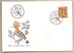 Svizzera - Busta FDC Con Annullo Speciale: Pro Patria - 1970 - Pro Patria