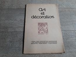 Revue Art Et Décoration Sept 1922 Cambodge Architecture Henry Dropsy Joseph Hémard Art Décoratif  Planche - Kunst