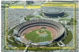 Postcard Stadium Oakland Coliseum Stadion Stadio - Estadio - Stade - Sports - Baseball Dome - Stadi