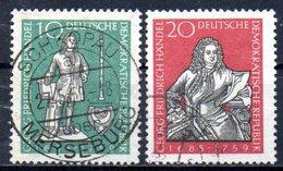 """(DDR-BM1) DDR  """"200.Todestag Von Georg Friedrich Händel"""" Mi 682/83 Sauber Gestempelt - [6] Democratic Republic"""