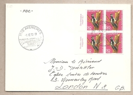 Svizzera - Busta FDC Viaggiata Per Il Regno Unito: Pro Patria - 1970 - Pro Patria