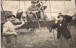 Aviation - Aviateur Vallon Et Son épouse - Planeyse/Neuchâtel - Rarissime - 1910 - Aviateurs