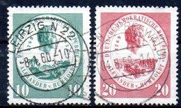 """(DDR-BM1) DDR  """"100.Todestag Von Alexander Von Humboldt"""" Mi 684/85 Sauber Gestempelt - [6] Democratic Republic"""