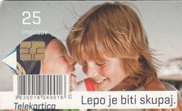 SLOVENIA - Lepo Je Biti Skupaj. 25, Chip:GEM5 (Red), Tirage 20000, 10/11, Used - Slovénie