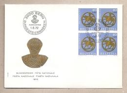 Svizzera - Busta FDC Con Annullo Speciale: Pro Patria - 1972 - Pro Patria