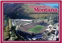 Postcard Stadium Montana University Stadion Stadio - Estadio - Stade - Sports - Football - Stadi