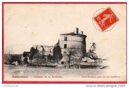 CPA 63 ESTANDEUIL Chateau De LA ROCHETTE  Près Billom - France