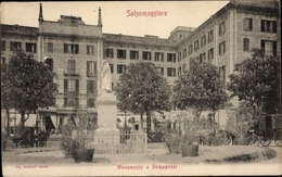 Cp Salsomaggiore Terme Emilia Romagna, Monumento A Romagnosi - Italia