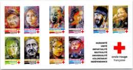 Croix-Rouge Francaise 2019 - Carnet Neuf Non Plié De 10 TVP Lettre Verte . Timbres France - Red Cross