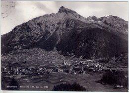 Brusson (Ao). Panorama. VG. - Italia