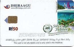 Maldives - Dhiraagu (chip) - Reef Fish - 200304xxxxxx - Chip Siemens S35, 50MRf, Used - Maldiven