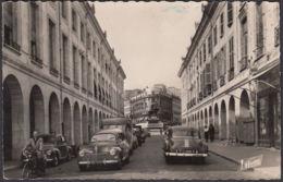 CPA Orleans, La Rue Royale. Au Fond, La Place Du Martroi, Avec La Statue De Jeanne D'Arc, Ungel. - Orleans