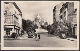CPA Lisieux, Avenue De La Basilique, Gel. - Lisieux